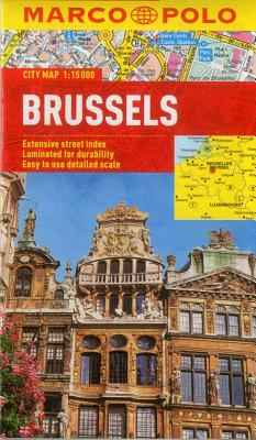 Brussels Marco Polo City Map (Marco Polo City Maps) Cover Image