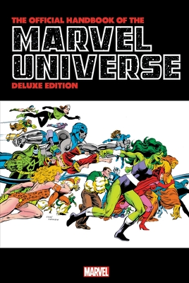 Official Handbook of the Marvel Universe: Deluxe Edition Cover Image