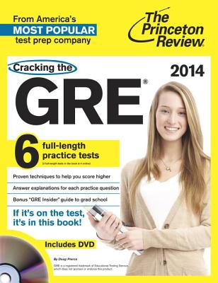 Cracking the GRE [With DVD] Cover