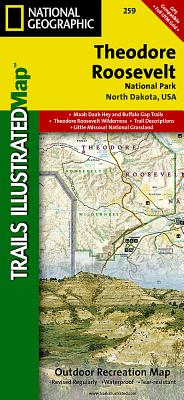 Theodore Roosevelt National Park (National Geographic Trails Illustrated Map #259) Cover Image