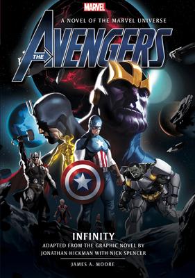 Avengers: Infinity Prose Novel Cover Image