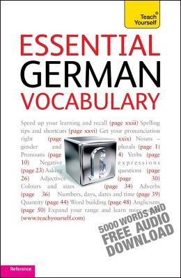 Essential German Vocabulary Cover Image