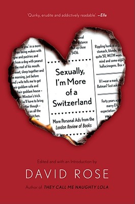 Sexually, I'm More of a Switzerland Cover