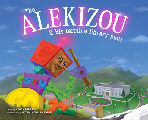 The Alekizou: and His Terrible Library Plot! Cover Image