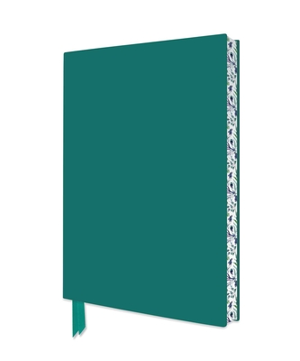 Teal Artisan Notebook (Flame Tree Journals) (Artisan Notebooks) Cover Image