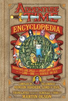The Adventure Time Encyclopaedia Cover
