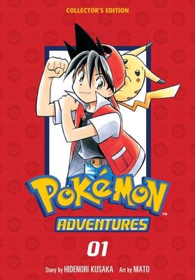 Pokémon Adventures Collector's Edition, Vol. 1 (Pokémon Adventures Collector's Edition #1) Cover Image