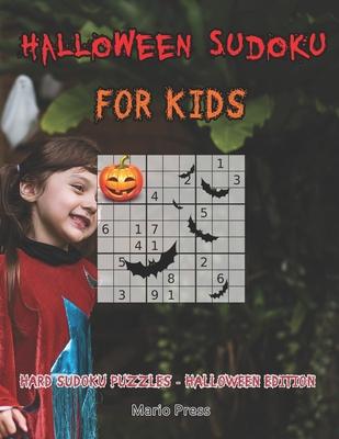 Halloween Sudoku For Kids: Hard Sudoku Puzzles - Halloween Edition Cover Image