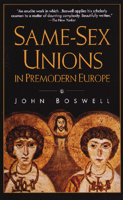 Same-Sex Unions in Premodern Europe Cover Image