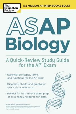 ASAP Biology: A Quick-Review Study Guide for the AP Exam (College Test Preparation) Cover Image