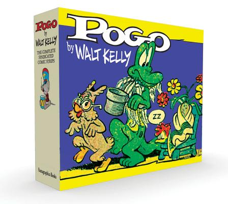 Pogo The Complete Syndicated Comic Strips Box Set: Volume 3 & 4: Evidence To The Contrary and Under The Bamboozle Bush (Walt Kelly's Pogo) Cover Image