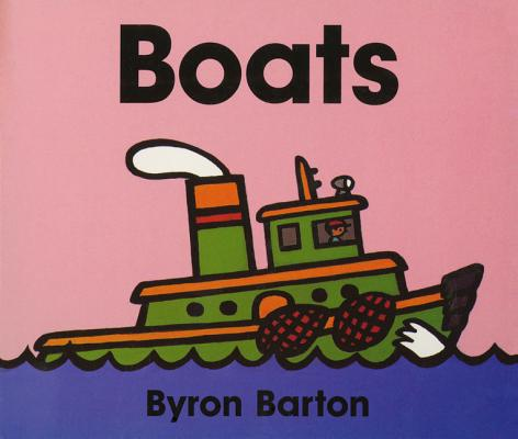 Boats Board Book Cover Image