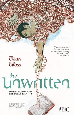 The Unwritten, Volume 1 Cover