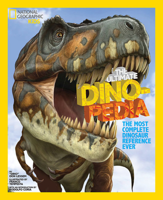 The Ultimate Dinopedia: The Most Complete Dinosaur Reference Ever Cover Image