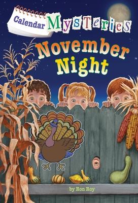 Calendar Mysteries #11: November Night Cover Image