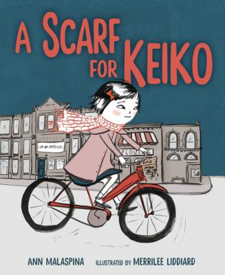 Cover for A Scarf for Keiko
