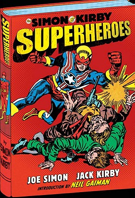 The Simon and Kirby Superheroes Cover