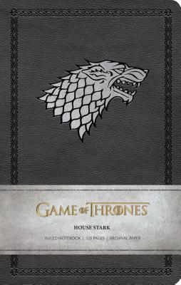 Game of Thrones: House Stark Ruled Notebook Cover Image