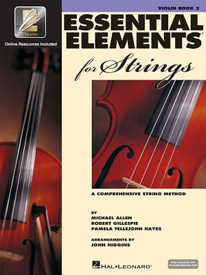 Essential Elements for Strings - Book 2 with Eei: Violin Cover Image