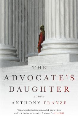 The Advocate's Daughter Cover