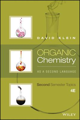 Organic Chemistry as a Second Language: Second Semester Topics Cover Image