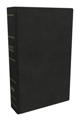 Cover for NKJV, Preaching Bible, Premium Calfskin Leather, Black, Comfort Print