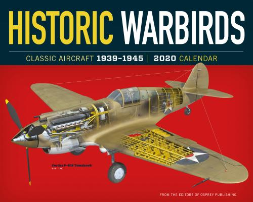 Historic Warbirds Wall Calendar 2020 Cover Image