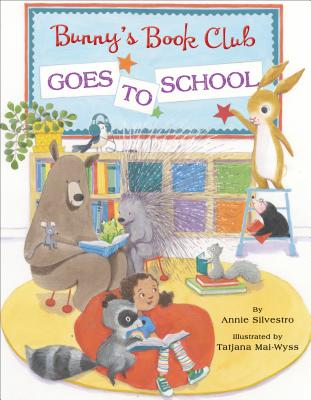 Bunny's Book Club Goes to School Cover Image