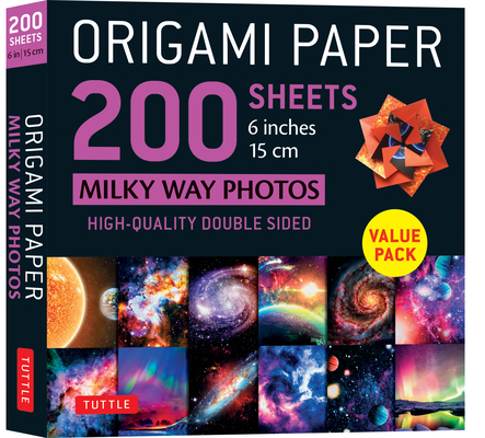 Origami Paper 200 Sheets Milky Way Photos 6
