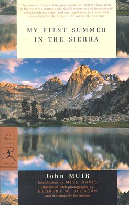 My First Summer in the Sierra (Modern Library Classics) Cover Image