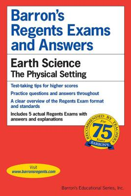 Regents Exams and Answers: Earth Science (Barron's Regents NY) Cover Image