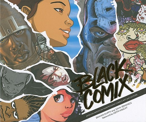 Black Comix Cover