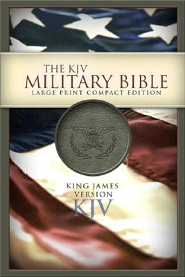 Military Bible-KJV-Large Print Compact Cover