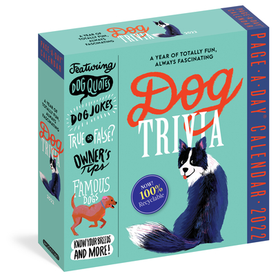 Cover for Dog Trivia Page-A-Day Calendar 2022