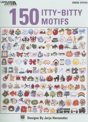 150 Itty-Bitty Motifs Cover