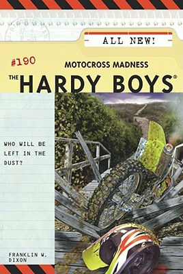Motocross Madness (Hardy Boys #190) Cover Image