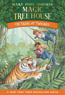 Tigers at Twilight (Magic Tree House (R) #19) Cover Image