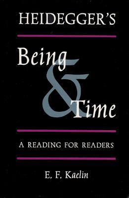 Cover for Heidegger's Being &