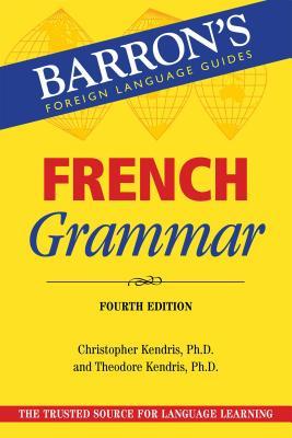 French Grammar (Barron's Grammar) Cover Image