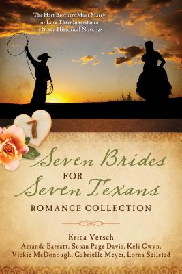 Cover for Seven Brides for Seven Texans Romance Collection