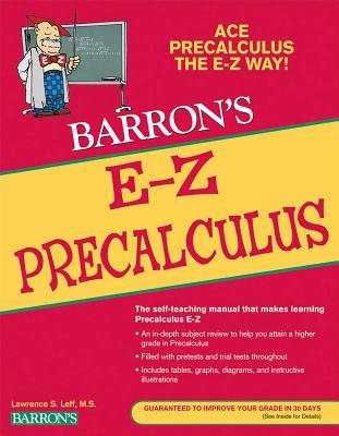 E-Z Precalculus (Barron's Easy Way) Cover Image