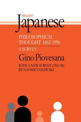 Recent Japanese Philosophical Thought 1862-1994: A Survey (Japan Library) Cover Image