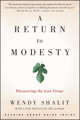 A Return to Modesty Cover