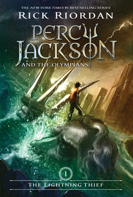 Percy Jackson and the Olympians, Book One The Lightning Thief (Percy Jackson and the Olympians, Book One) (Percy Jackson & the Olympians #1) Cover Image