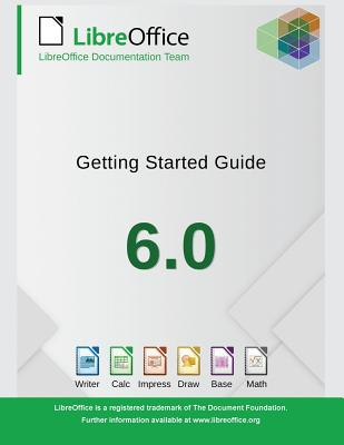 Getting Started with LibreOffice 6.0 Cover Image