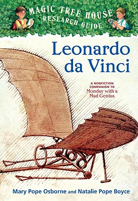 Leonardo Da Vinci: A Nonfiction Companion to Magic Tree House #38: Monday with a Mad Genius Cover Image