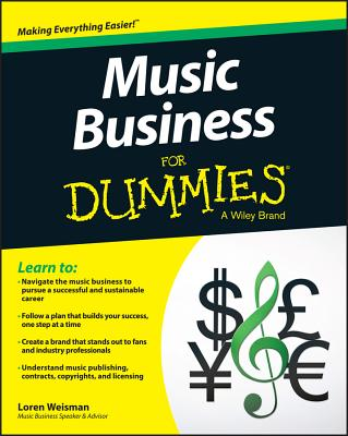 Music Business for Dummies Cover Image