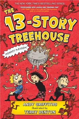The 13-Story Treehouse: Monkey Mayhem! (The Treehouse Books #1) Cover Image