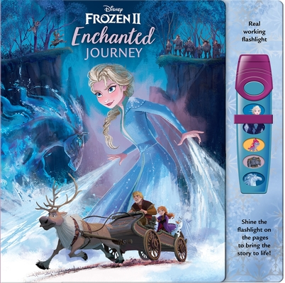 Disney Frozen 2: Enchanted Journey [With Flashlight with 5 Buttons That Play Sounds] (Play-A-Sound) Cover Image