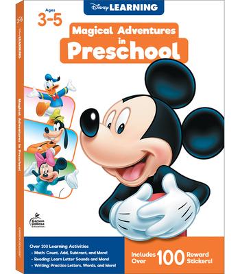Disney/Pixar Magical Adventures in Preschool Cover Image